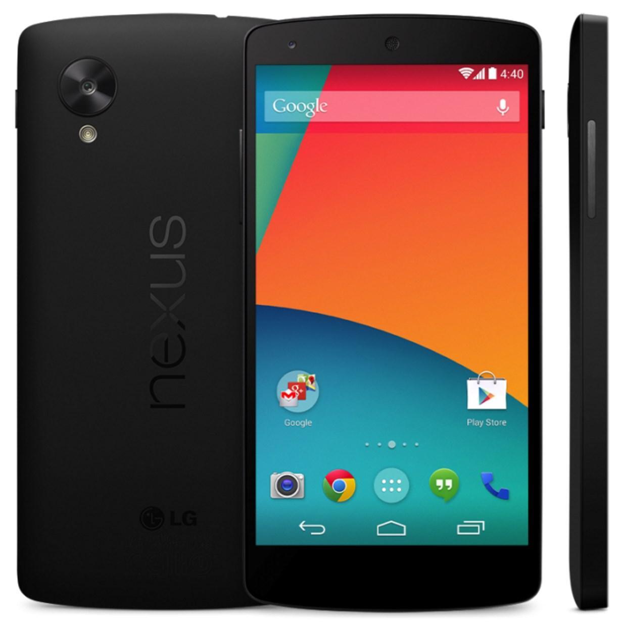 "Smartphone 5.2"" LG Google Nexus 5 - 16 Go, Reconditionné"