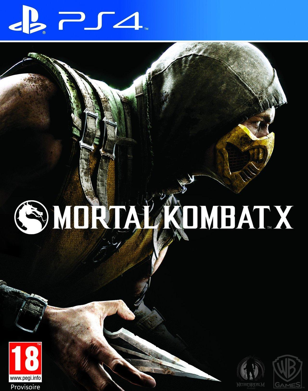Sélection de jeux vidéo en promotion - Ex : Mortal Kombat X sur PS4