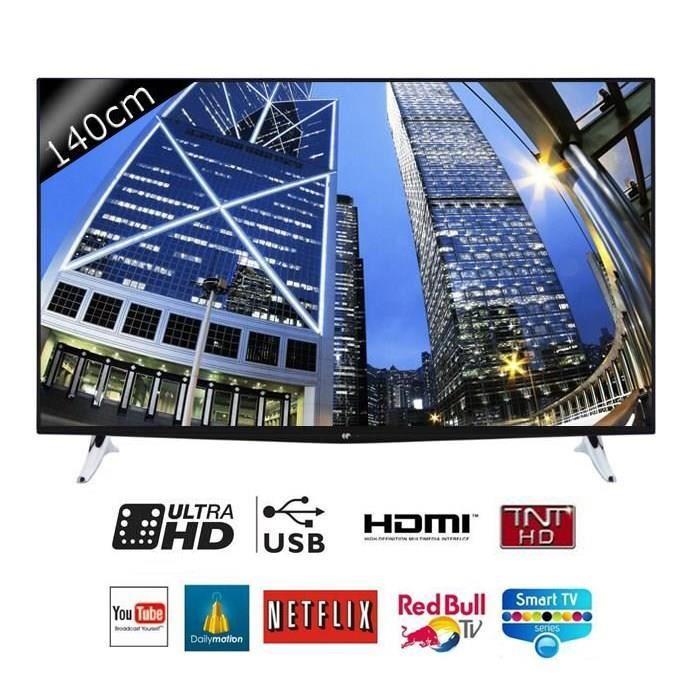 "TV 55"" Continental Edison 55K0416B3 - UHD 4K, smart TV"