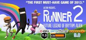 Bit.Trip Runner 2 : Future Legend of Rhythm Alien sur PC (Dématérialisé - Steam)