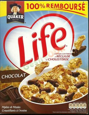 2 paquets de Céréales Quaker Life Chocolat gratuits (avec ODR)
