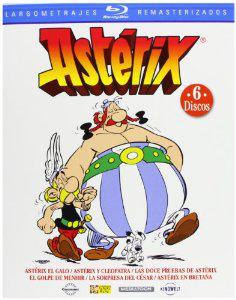 Coffret 6 Blu-ray Astérix (+ Autres coffrets pour amortir les frais de port, voir description)