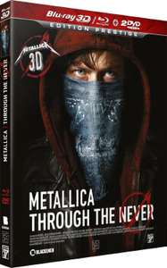 Coffret Blu-ray Metallica Through the Never - édition Prestige (+ Blu-Ray 3D + 2 DVD)