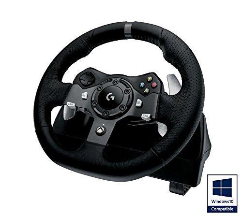 Volant Logitech G920 Driving Force pour Xbox One / PC