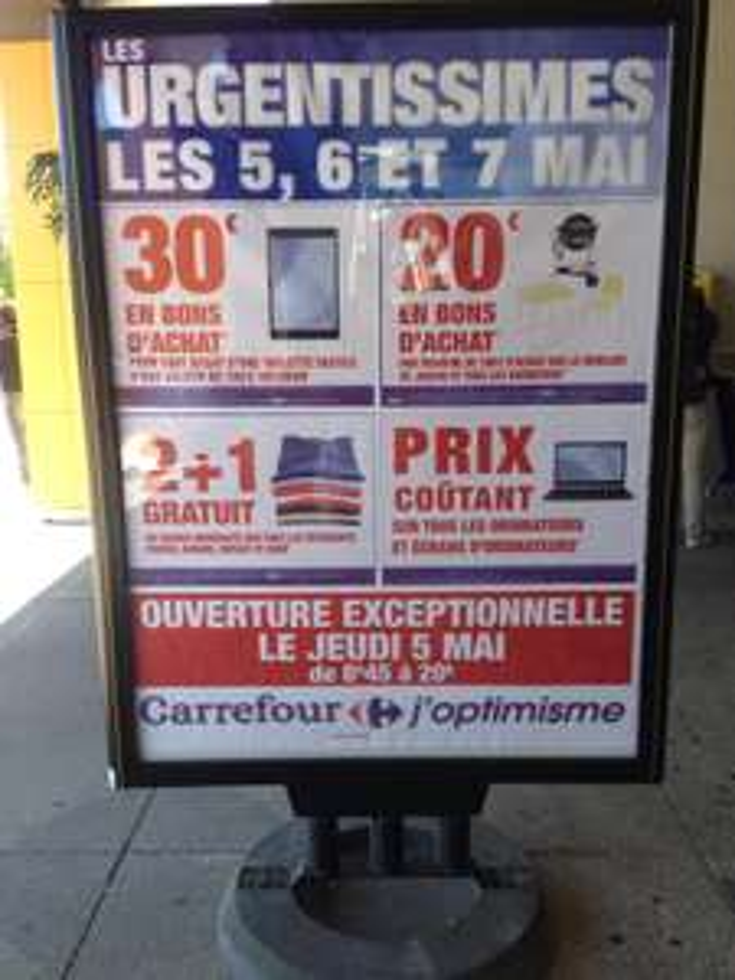 Sélection de promotions - Ex : 20€ offert en bon d'achat par tranche de 100€ sur le mobilier de jardin et tous les barbecues