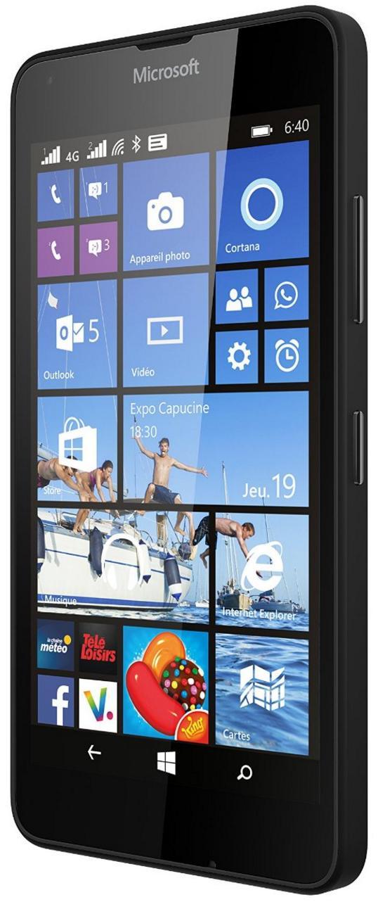 "Smartphone 5"" Microsoft Lumia 640 - 4G, 8 Go, Double SIM, Windows Phone 8.1"