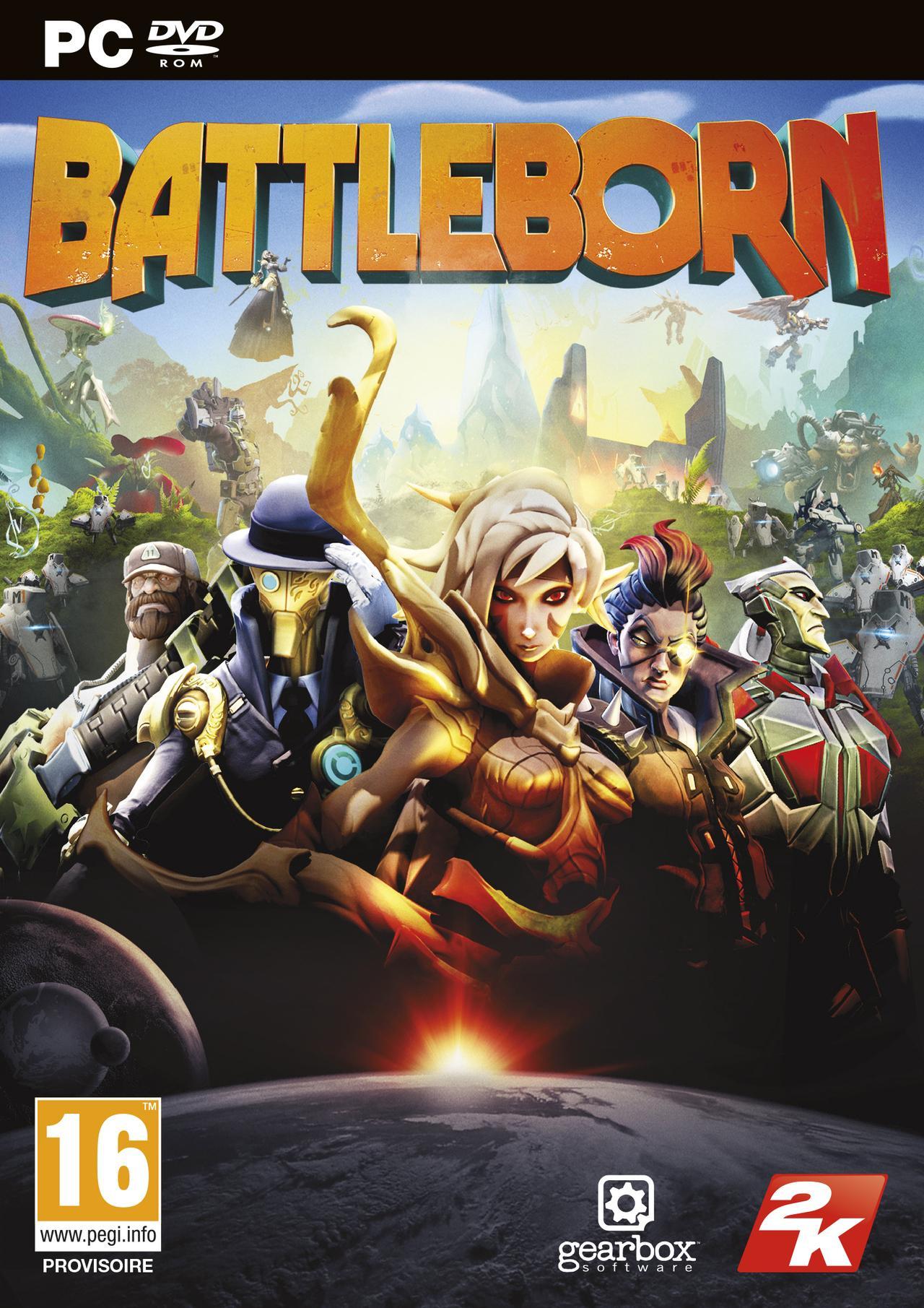 Battleborn sur PC + figurine offerte