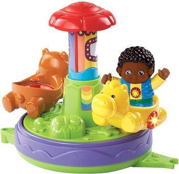 50% de réduction sur une sélection de jouets Vtech Tut Tut - Ex : Copains - Mon p'tit manège magique + Coffret duo Line et Chris à roulettes (via ODR de 5€)