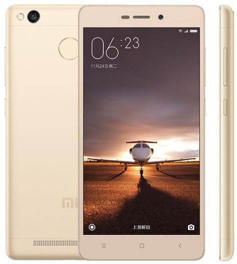 "Smartphone 5.0"" Xiaomi Redmi 3 Pro - Snapdragon 616, ROM 32 Go, RAM 3 Go, Or"
