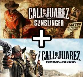Call of Juarez Gunslinger + Call of Juarez Bound in Blood (Offert) sur PC