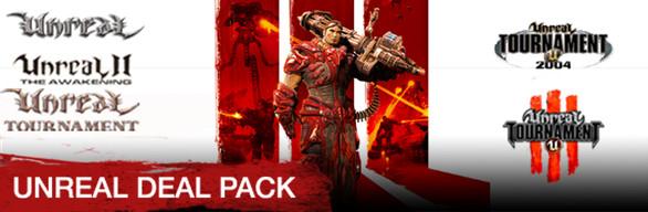 pack Unreal Deal Pack (les 5 jeux) sur PC (Dématerialisé)