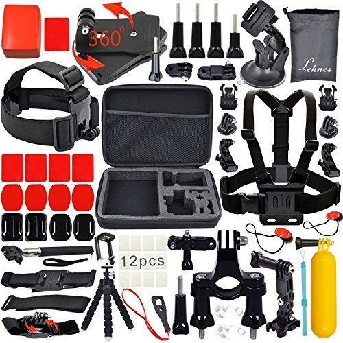 Lot de 32 accessoires Leknes pour GoPro Hero 4