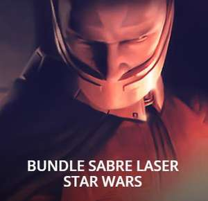 Bundle Sabre Laser Star Wars - 9 jeux PC (KOTOR I+II, Jedi Knight II+III, Empire at War, ...)