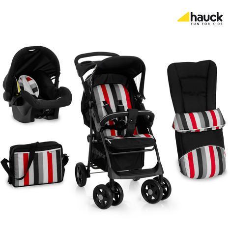 Set poussette combiné Hauck duo Shopper shop'n drive
