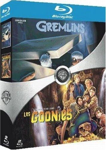 Coffret 2 Blu-Ray : Gremlins + Les Goonies