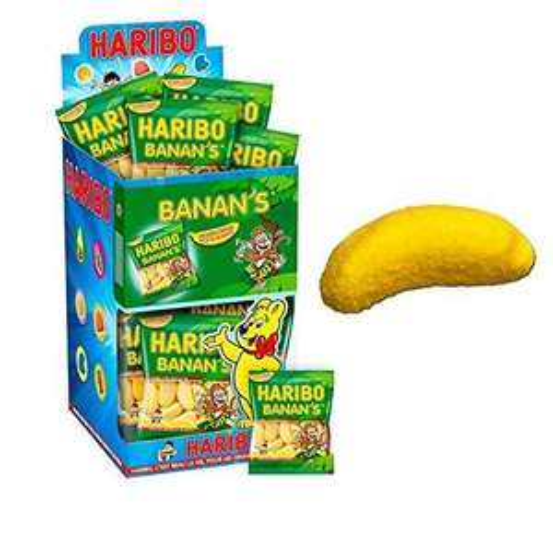 [Panier Plus] Pack de 30 sachets de bonbons Haribo Banan's 30g