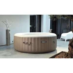 [Cdicount à volonté] Spa à bulles Intex Pure Spa - Rond, 4 places