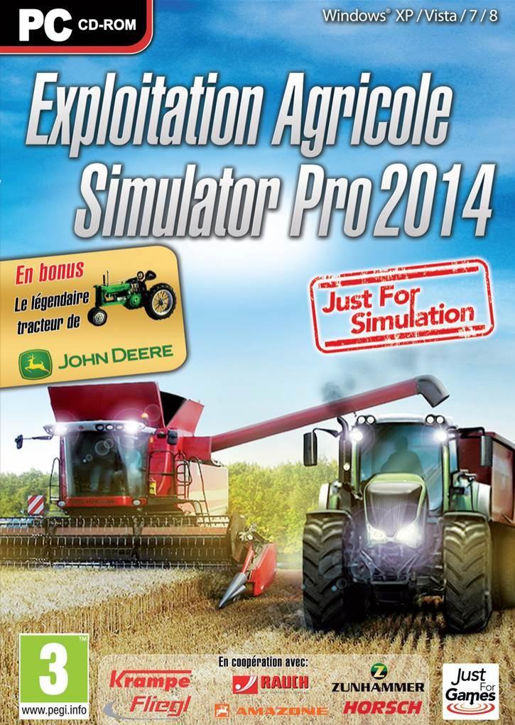 Sélection de jeux vidéo en promotion - Ex : Exploitation Agricole Simulator Pro 2014