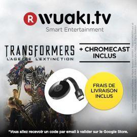 Clé HDMI Chromecast 2 + Transformers: Age of extinction