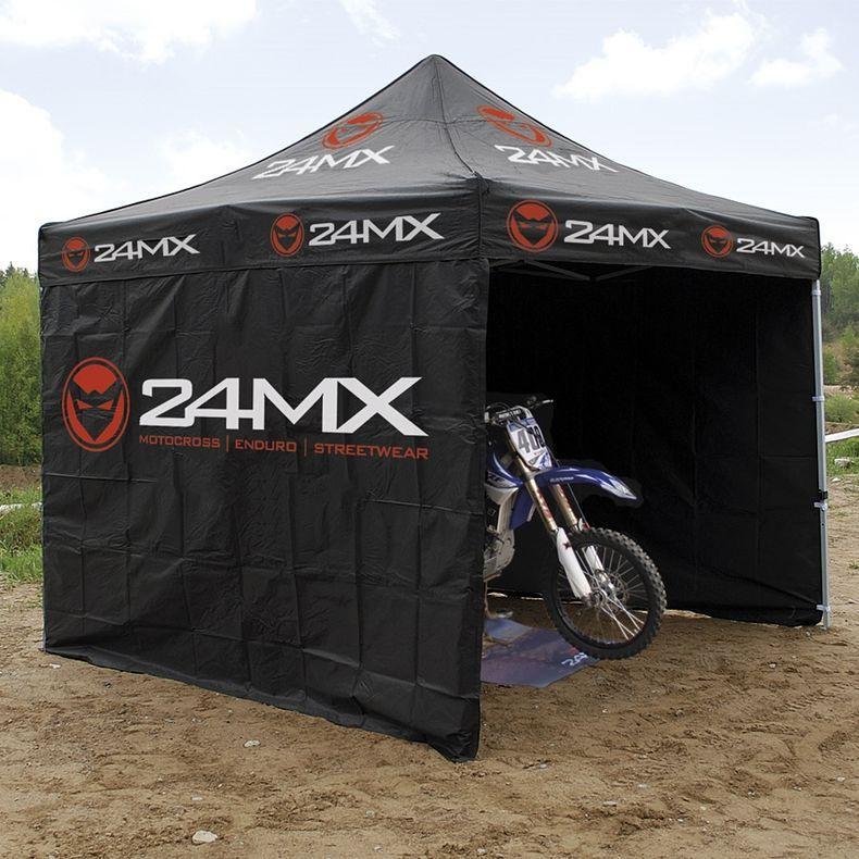 Tente paddock (3 x 3 m) avec 3 cloisons