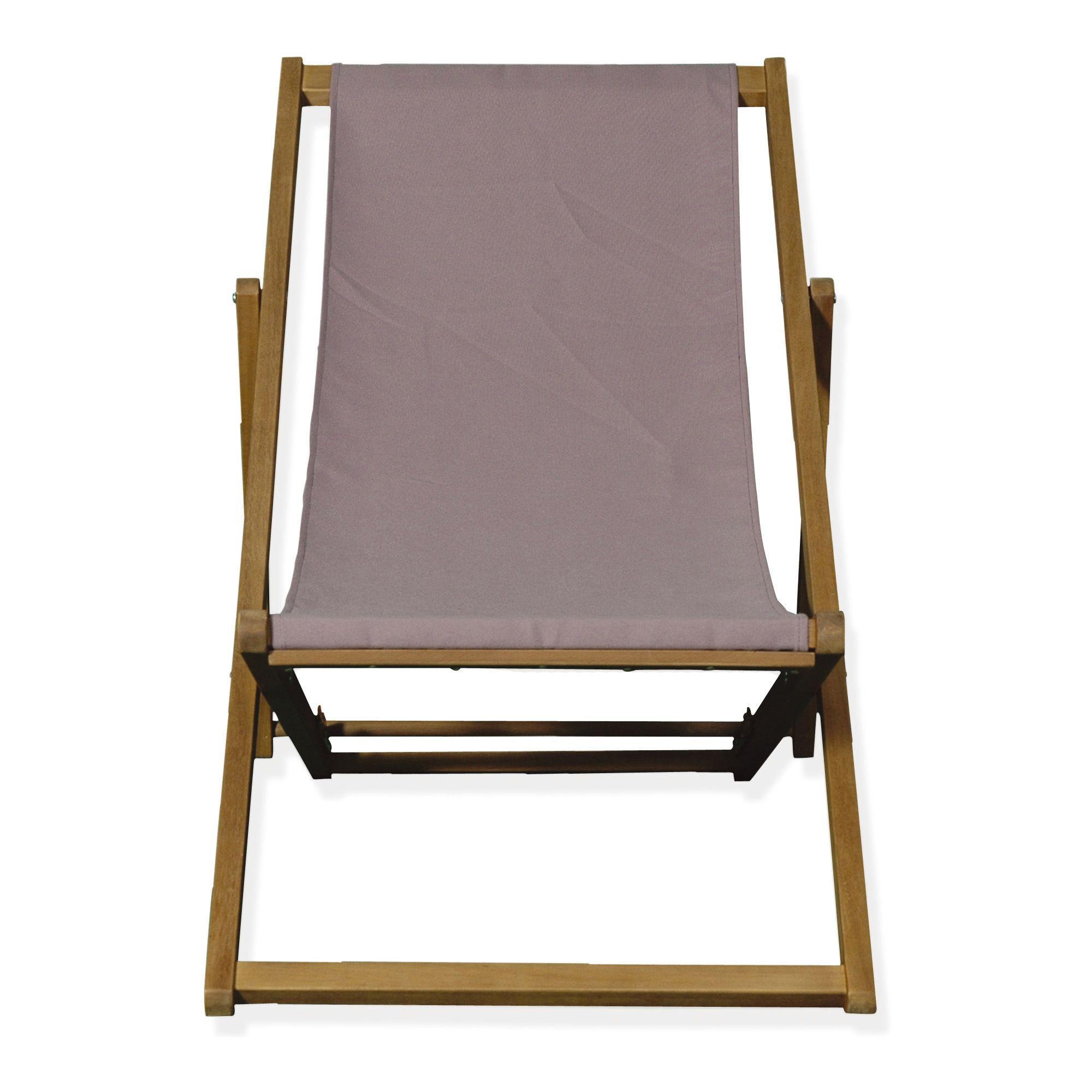 Chaise longue de jardin - différents coloris