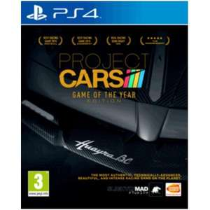 Project Cars Game GOTY sur PS4