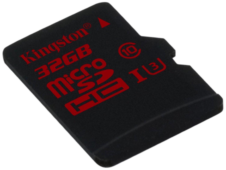 Carte microSDHC Kingston UHS-1 U3 - 32 Go