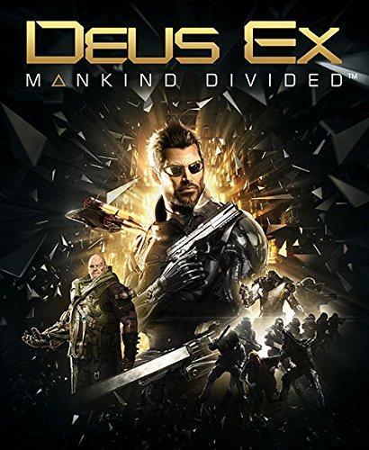 Précommande : Jeu Deus Ex Mankind Divided sur PS4 - Edition Day One
