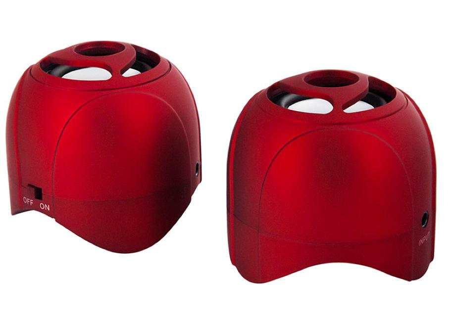 Enceinte portable Bluetooth avec batterie intégrée Novodio WattBomb Air Rouge