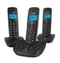 Téléphone fixe sans fil Doro Formula 8R - 3 combinés