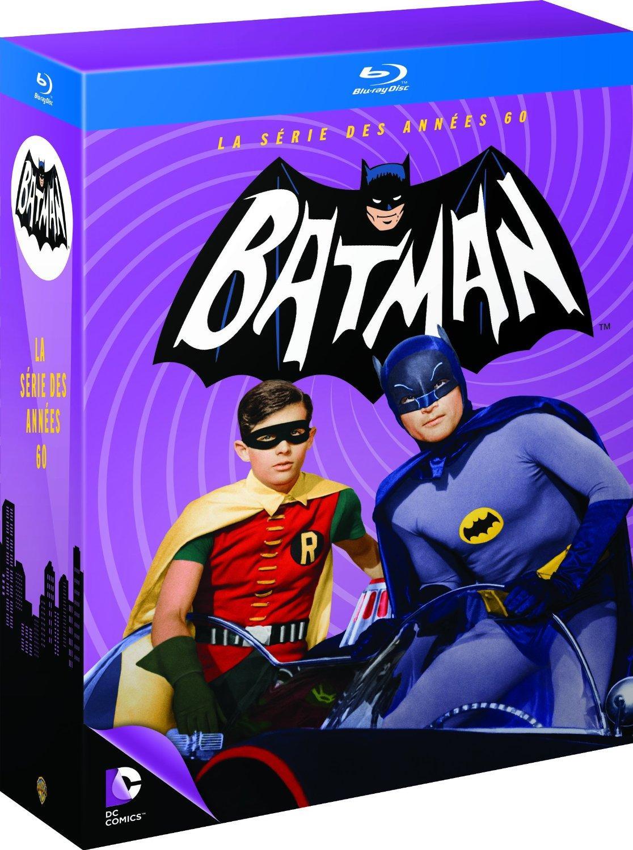 Coffret Blu-ray Batman : La série TV complète (13 disques)