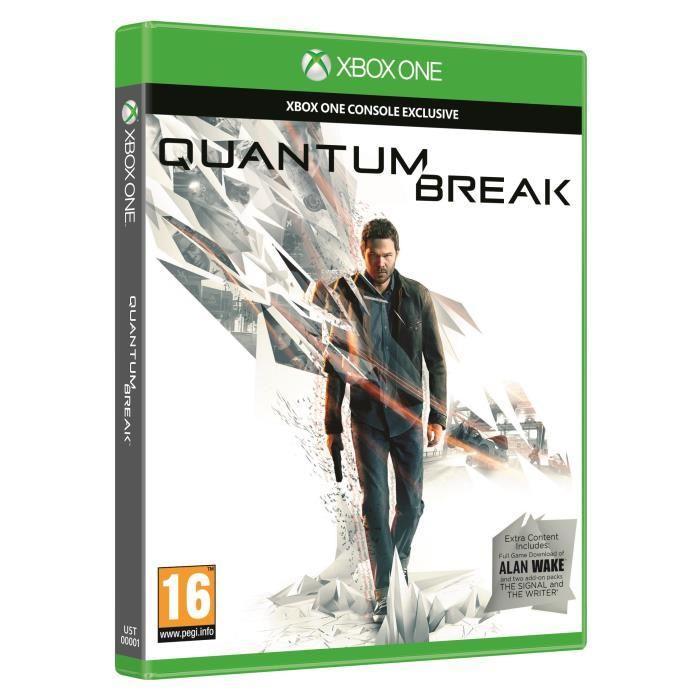 Quantum Break sur Xbox One  (+ 12.25€ en 2 bon d'achats)