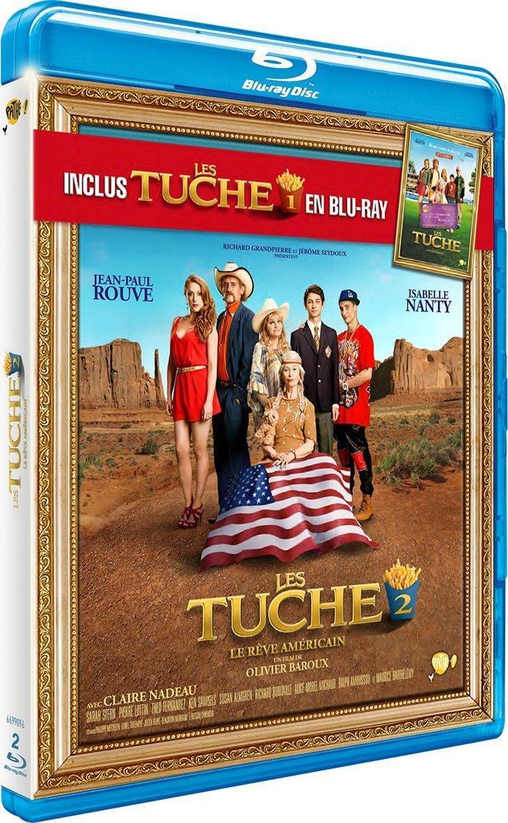 Coffret Blu-ray : Les Tuche 1 + Les Tuche 2