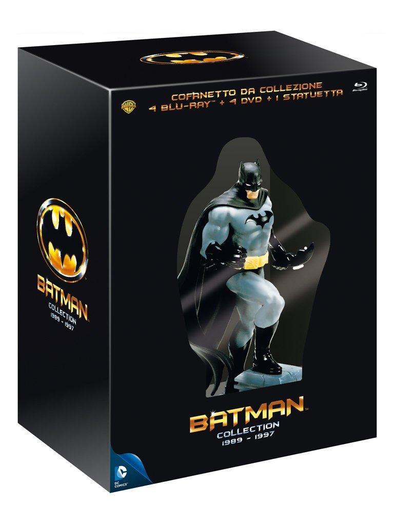 Coffret Blu-ray Batman L'intégrale - Edition Collector avec Statue