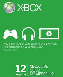 Xbox Live Gold & Xbox Live Points