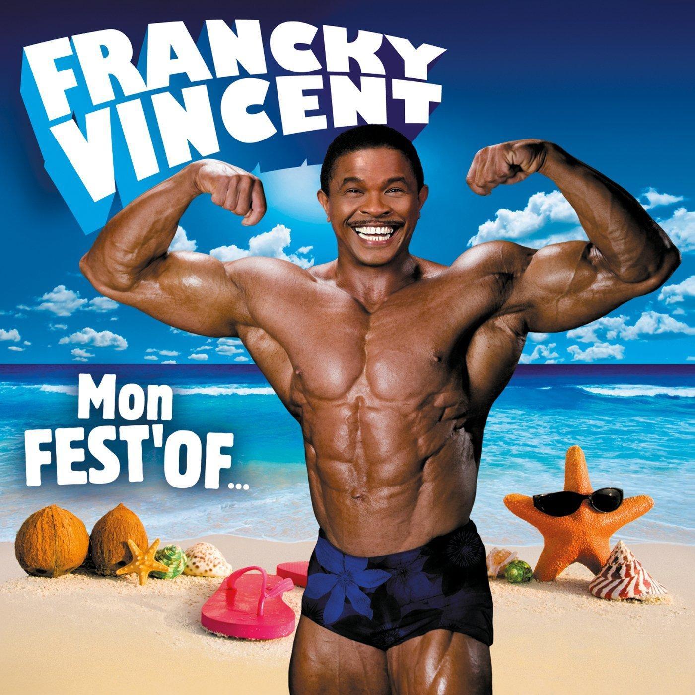 CD de Francky Vincent Mon Fest'Of Compilation