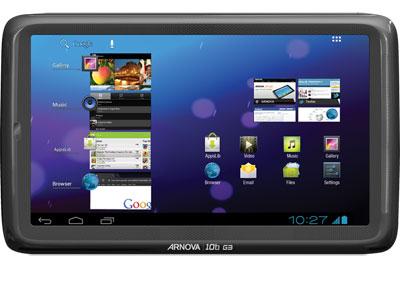 """Tablette 8"""" Arnova 8B G2 8 Go à 79.90€ ou 10,1"""" Arnova 10B G3 4 Go"""