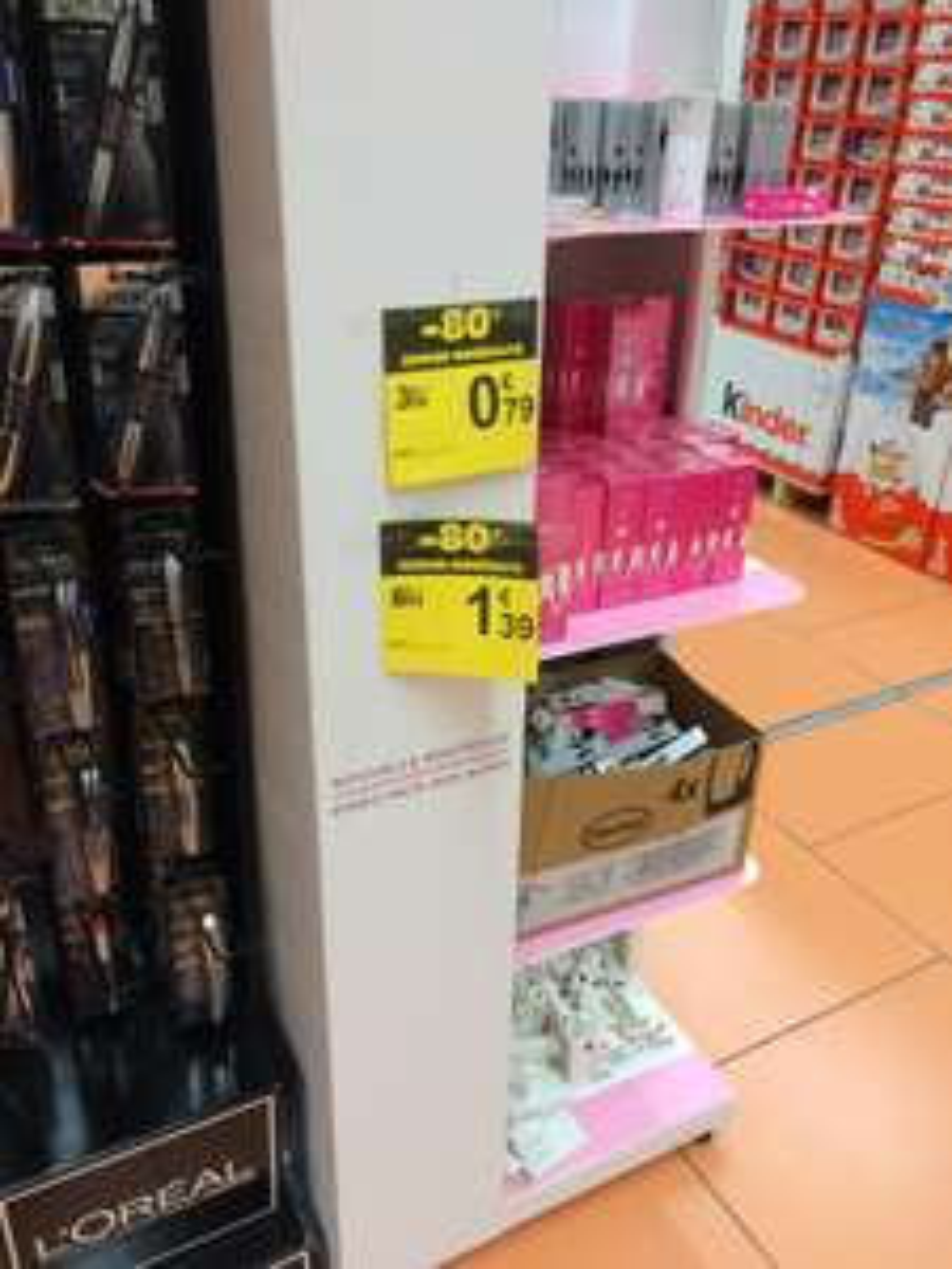 Parfum Jacques Fath Yang (homme) ou Yin (femme) - 50 ml à 1.39€ et 30 ml