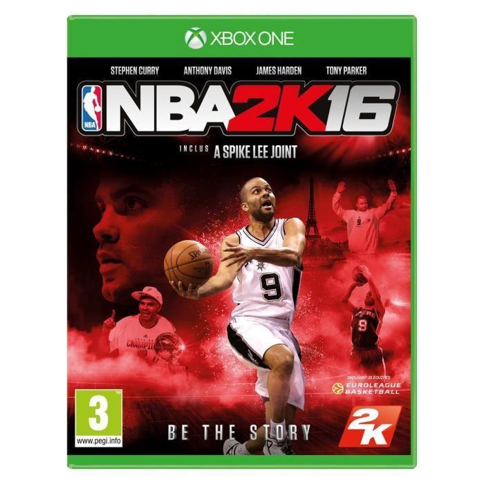 [Cdiscount à volonté] NBA 2K16 sur Xbox One et PS4