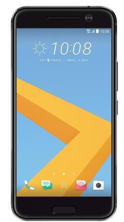 """Smartphone 5.2"""" HTC 10 + enceinte JBL Flip 2 Black édition"""