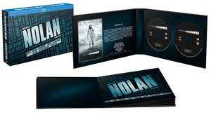 Coffret blu-ray Christopher Nolan, l'intégrale : Memento + Insomnia + Le prestige + Trilogie Batman + Inception + Interstellar