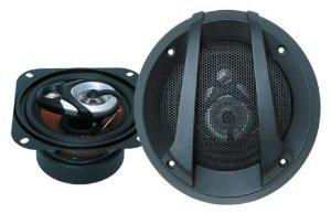 Haut parleurs pour voiture Juice JS43 10cm 3 voies