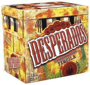 3 packs de Bières Desperados (12 x 33 cl)
