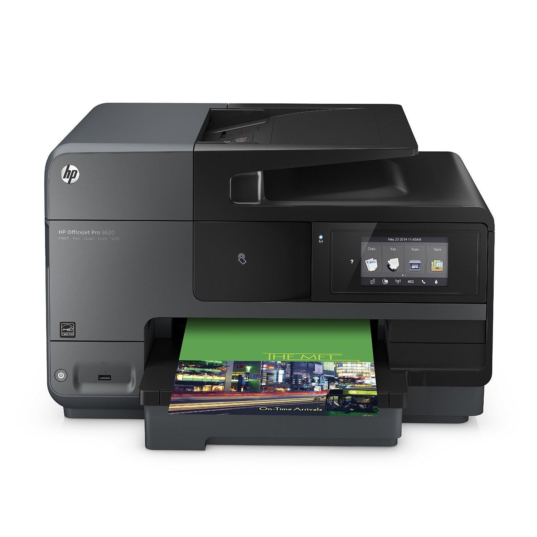 Imprimante multifonction HP Officejet Pro 8620 - Jet d'encre, Couleur, 21 ppm, Wi-fi (Reconditionnée)