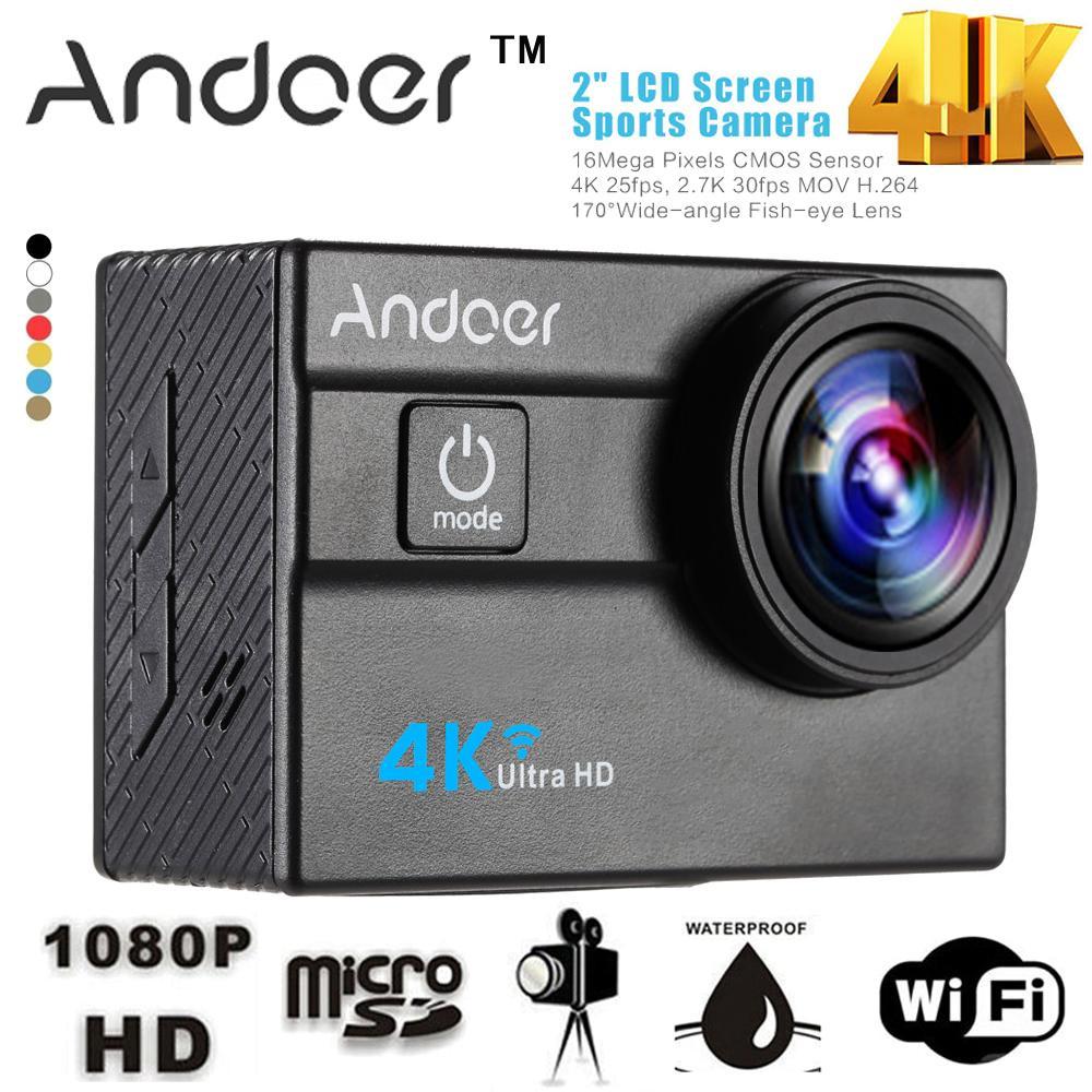 Caméra de sport Andoer Ultra HD 4K
