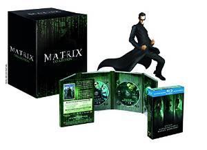Coffret Matrix Trilogie - Edition limitée (Combo Blu-Ray + DVD + Statue)