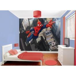 "Papier peint Ultimate Spiderman ""City"" Walltastic (2,44m x L 3,05 m)"
