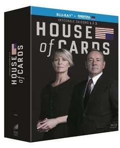 Coffret Blu-ray House of Cards - saisons 1 à 3