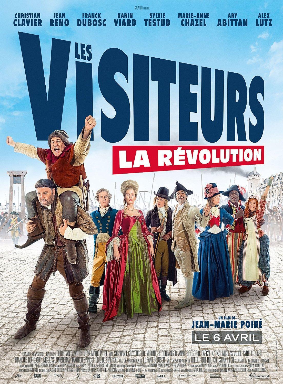 [Précommande] Blu-ray Les visiteurs 3 : la Révolution