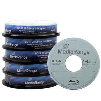 50 Blu-rays vierge BD-R 25 Go - 4x (8,99€ de port)